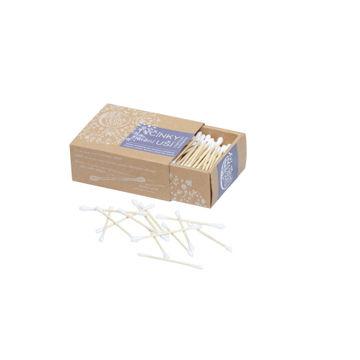 Slika Štapići za čišćenje ušiju – od bambusa i organskog pamuka, 200 kom/pak