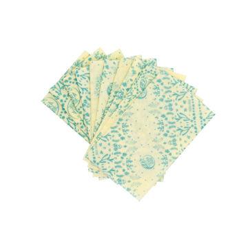 Slika Voštane pamučni ubrusi, veličina S (18 x 18 cm) -  10 kom